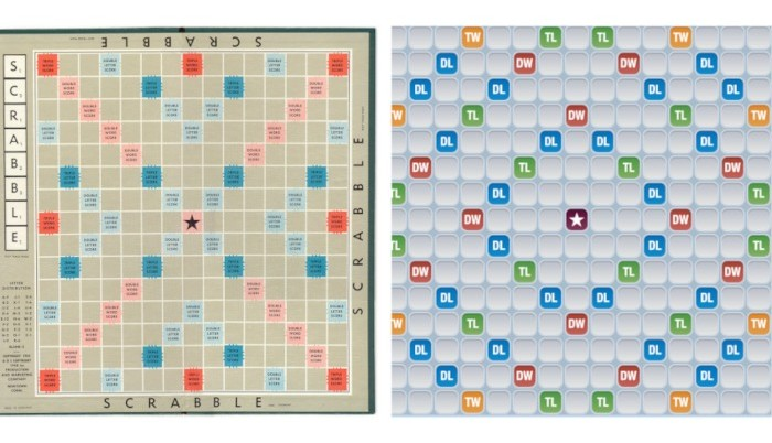 Scrabble vs Words with Friends